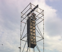 Layher PA Tower